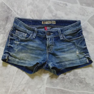 2/$20 BKE denim distressed shorts